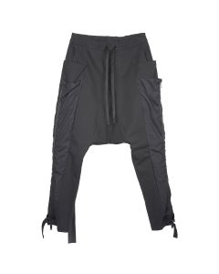 BEN TAVERNITI UNRAVEL PROJECT COTTON POCKETS CARGO PANTS / 1000 : BLACK NO COLOR