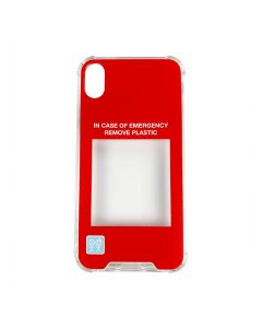 URBAN SOPHISTICATION IN CASE OF EMERGENCY PHONE CASE X/XS / CLEAR