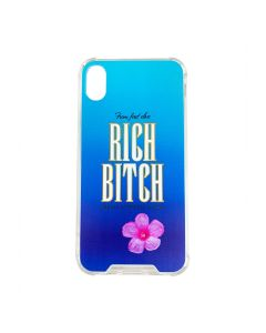 URBAN SOPHISTICATION RICH BITCH PHONE CASE X/XS / CLEAR