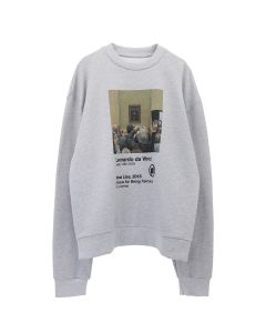 URBAN SOPHISTICATION FAMOUS FOR BEING FAMOUS SWEATSHIRT / GREY