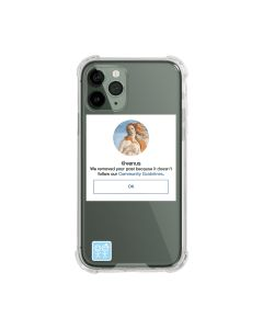 URBAN SOPHISTICATION COMMUNITY GUIDELINES iPhone CASES / CLEAR