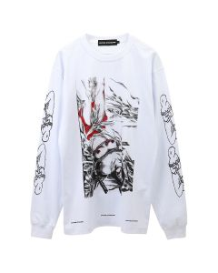 UNITED STANDARD BONDAGE LONG SLEEVE SHIRT / 003 : WHITE