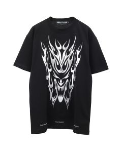 UNITED STANDARD TRIBAL T-SHIRT / 001 : BLACK