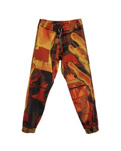 UNITED STANDARD JAQUARD PANTS / 020 : ORANGE