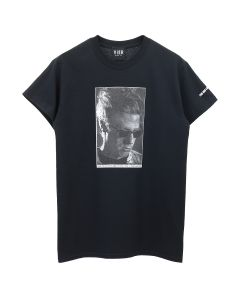 VIER ANTWERP RINUS SELF PORTRAIT TEE / BLACK