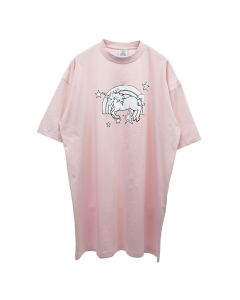VETEMENTS MAGIC UNICORN T-SHIRT / BABY PINK