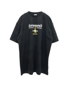 VETEMENTS ANTWERP LOGO T-SHIRT / BLACK