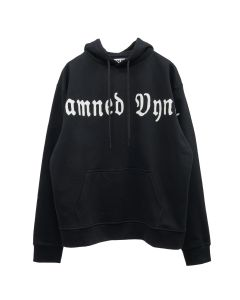 VYNER ARTICLES HOODIE SWEAT / 1030 : DAMNED VYNER PRINT BL-WH