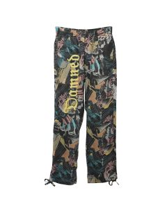 VYNER ARTICLES WIT ELASTICATED PANT VISCOSE FLUID / 8013 : COMIC2 DIGITAL PRINT