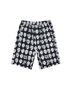 VYNER ARTICLES ELASTICATED SHORTS WITH PRINT&TREATMENT / 1016 : SALMIAKKI PRINT