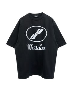WE11DONE WE11DONE LOGO T-SHIRT / BLACK
