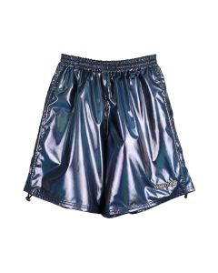 WE11DONE SMALL METALLIC LOGO MENS SHORT / MIX