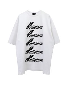 WE11DONE WELLDONE FRONT LOGO T-SHIRT / WHITE