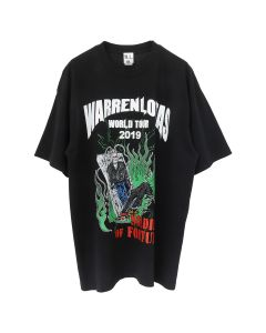 WARREN LOTAS WORLD TOUR 2019 T-SHIRT / WASHED BLACK