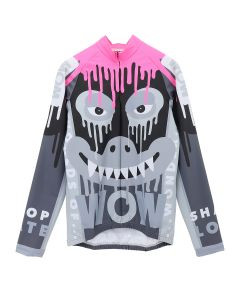 Walter Van Beirendonck DRIPPING MONSTER BIKE TOP / COMB.III : BLACK-PINK