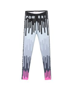 Walter Van Beirendonck DRIPPING MONSTER BIKE LEGGINGS / COMB.III : BLACK-PINK