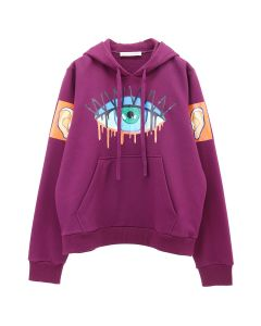 Walter Van Beirendonck MONSTER HOODY / CC21 : DARK PURPLE