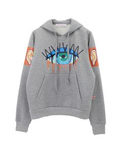 Walter Van Beirendonck MONSTER HOODY / CC21 : GREY MALE