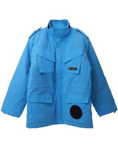 Xander Zhou ZIP UP FOUR FRONT POCKETS JACKET / BLUE