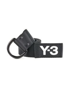 Y-3 LOGO BELT / BLACK