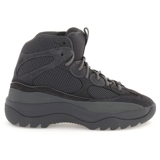8957ba2a858 YEEZY SEASON 6 GRAPHITE THICK SUEDE MESH AND NUBUCK DESERT BOOT   GRAPHITE