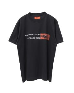 424 SS19 S/S ESSENTIAL TEE / BLACK