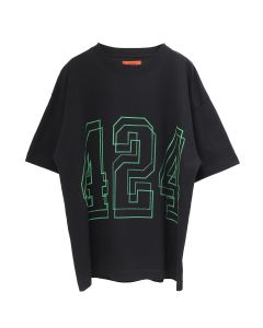 424 S/S TEE WASHED BLACK TOUR / BLACK