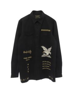 maharishi MIL TOUR SHIRT / BLACK