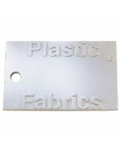 A-COLD-WALL* PLASTIC FABRICS PIN / WHITE-CHROME-STEEL