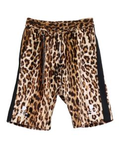 MASTERMIND JAPAN PANTS 34 / LEOPARD (WHITE)