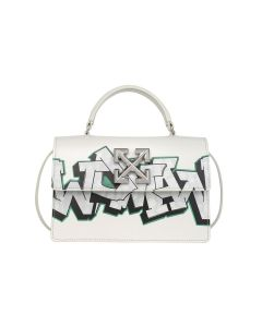 OFF-WHITE c/o Virgil Abloh WOMENS JITNEY 1.4 GRAFFITI / 0201 : OFF WHITE WHITE