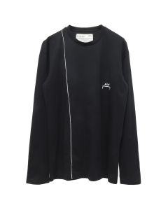 A-COLD-WALL* ACW PIPING LONGSLEEVE w/BACK DETAIL / BLACK