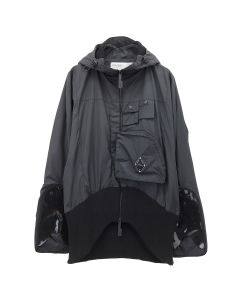 A-COLD-WALL* VENTRAL JACKET WITH ASYMMETRIC / BLACK