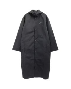 A-COLD-WALL* CORE RUBBERISED COAT / BLACK