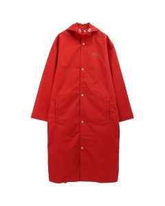 A-COLD-WALL* CORE RUBBERISED COAT / RED