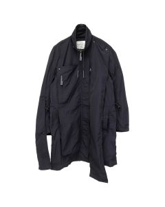 A-COLD-WALL* MULTIPANEL JACKET / SC01 : BLACK