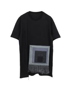 A-COLD-WALL* REMOVABLE ALBERS TEE / SC01 : BLACK