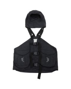 A-COLD-WALL* GILET BACKPACK / SC01 : BLACK