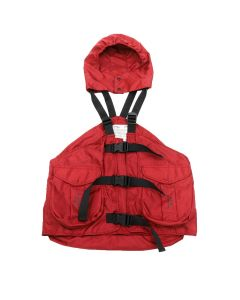 A-COLD-WALL* GILET BACKPACK / SC45 : RED