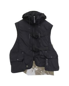 A-COLD-WALL* STEP FRONT NYLON PADDED / SC01 : BLACK