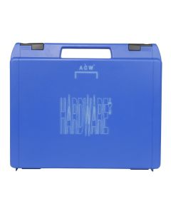 A-COLD-WALL* HARDWARE UTILITY CASE / SC27 : BLUE
