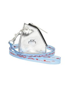 A-COLD-WALL* COIN POUCH WITH LANYARD / SC13 : SILVER