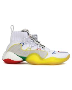 adidas Originals = PHARRELL WILLIAMS CRAZY BYW LVL x PW / FTWWHT-SUPCOL-SUPCOL