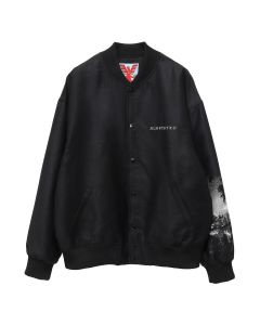 ADAPTATION STADIUM JACKET / BLACK L.A SKYLINE