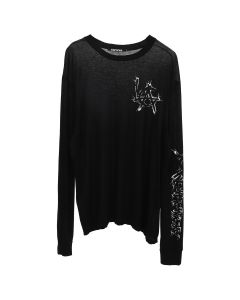 ADAPTATION LONG SLEEVE T-SHIRT / BLACK OUT