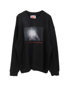 ADAPTATION CREW SWEATSHIRT / BLACK OUT