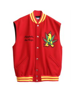ADAPTATION SLEEVELESS VARSITY / RASTA RED