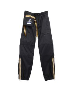 AFTERHOMEWORK KWAY PACKABLE PANT WITH CABLES / BLACK