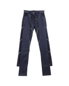 AFTERHOMEWORK DOUBLE PANT ADJUSTABLE / NAVY