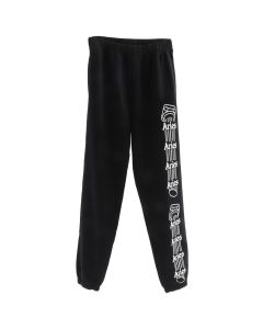 Aries COLUMN TRACK PANTS / BLACK-WHITE